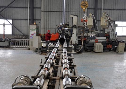 Workshop production line 8
