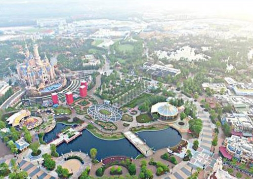 Shanghai Disney Sewage Pipe Network