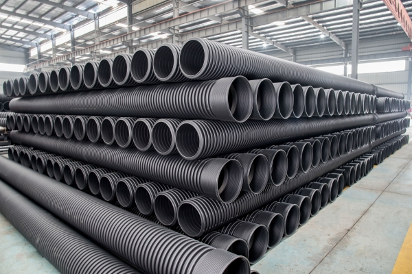 What are the performance of HDPE double-wall corrugated pipes?